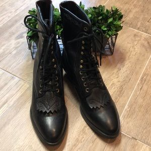Ariat Heritage Lacer Packer Ropers in Black